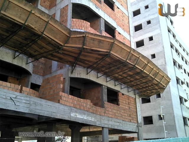 9a0c0ac0ed4e5 Bandeja de Proteção Obra Construção Civil. Bandeja de Proteção
