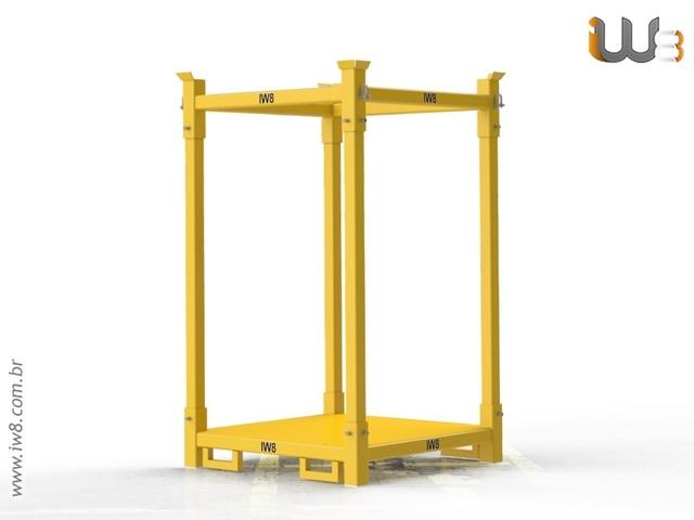 Foto do produto - Estrutura para Big Bag Empilável