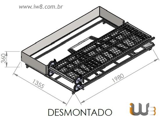 Andaime Desmontavel