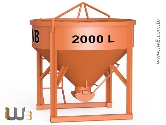 Balde 2000L