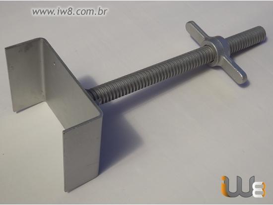 Foto do produto - Forcado Regulável Duplo para Escoras