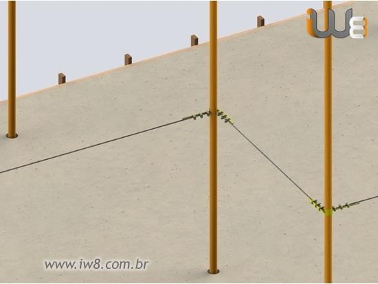Cabo de Aço para Linha de Vida 10mm 3 8