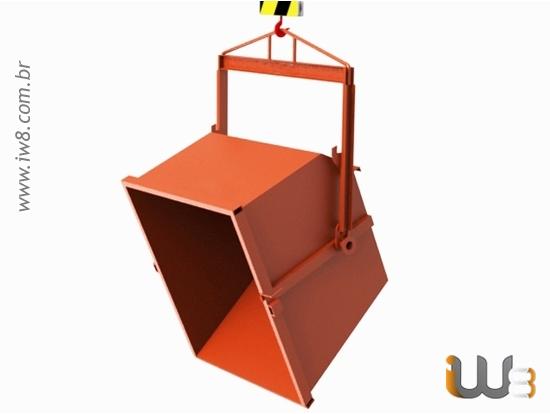 Caçamba Basculante 1,8m³ 1200kg