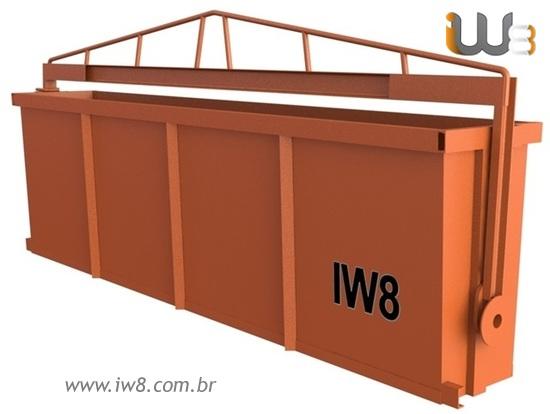 Foto do produto - Caçamba Basculante Cap. 1.5m³ 1000kg