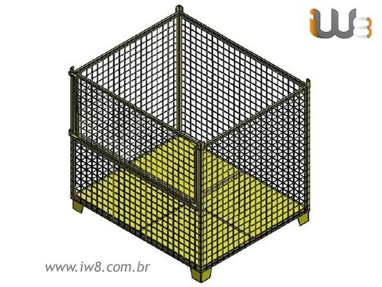 Caixa Aramada Industrial
