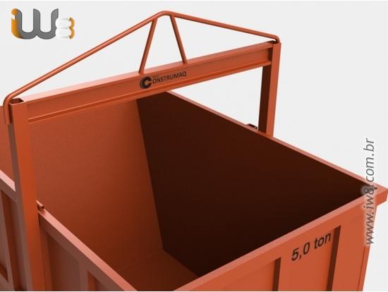 Caixa Coletora de Entulhos 5m³