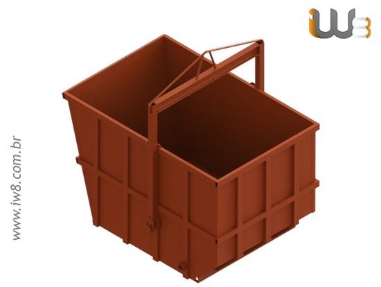 Caixa de Entulho 5m³