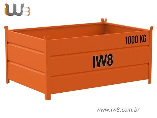 Caixa Metálica Container