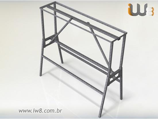 Cavalete de Ferro para Construção