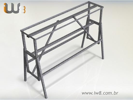 Cavaletes de Ferro para Construção Civil