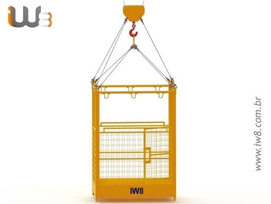 Foto do produto - Cesto Aéreo para Elevação de Pessoas