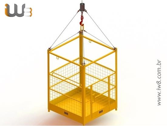 Foto do produto - Cesto para Elevação de Pessoas