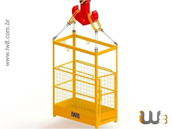 Foto do produto - Cesto para Trabalho em Altura