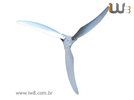 Cj Hélice para Ventilador Industrial 100cm Coluna