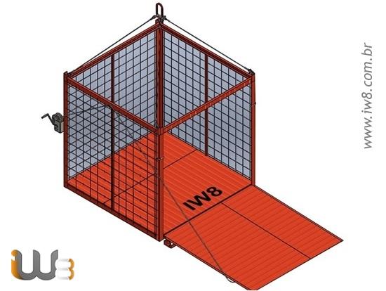 Container Aramado com Rampa