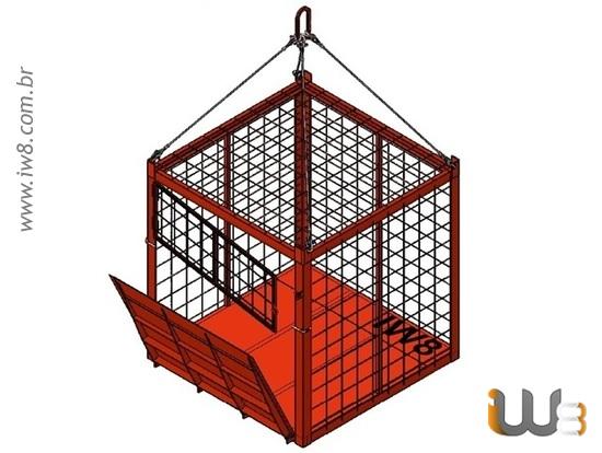 Container Aramado Içamento