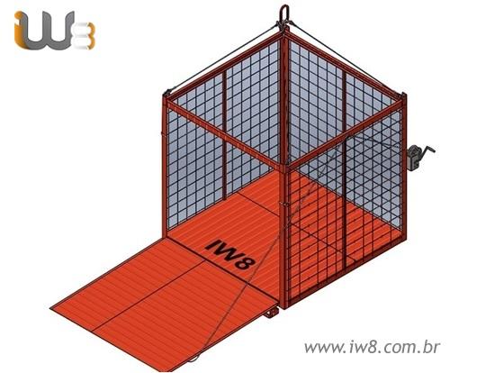 Container Aramado Movimentação