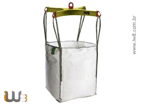 Cruzeta de Elevação para Movimentar Big Bags