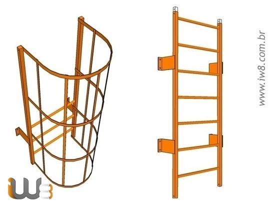 Desenho Escada Marinheiro