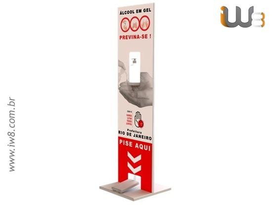 Dispensador de Álcool Gel Automático