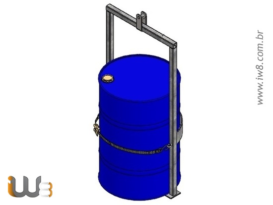 Dispositivo para Içamento Simples de Tambores 200L