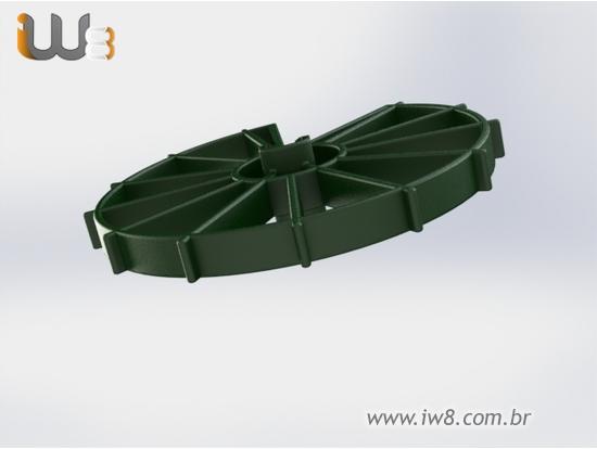 Distanciador Plastico Circular 50mm