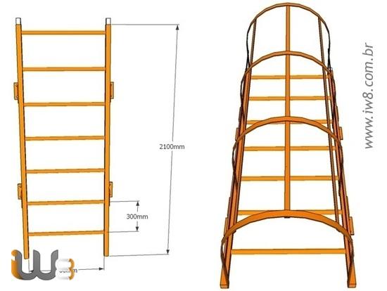Escada Marinheiro Padrão