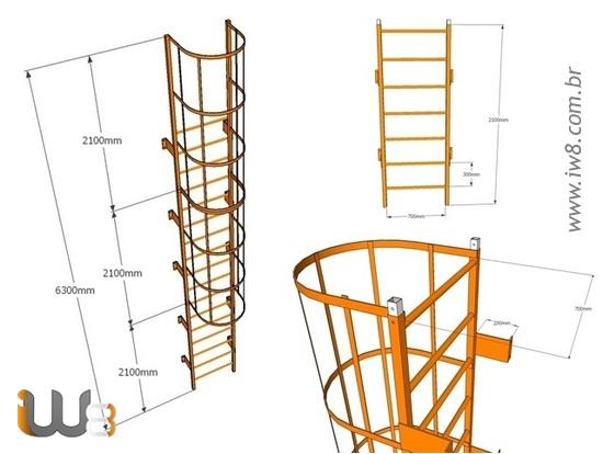 Escada Marinheiro Projeto