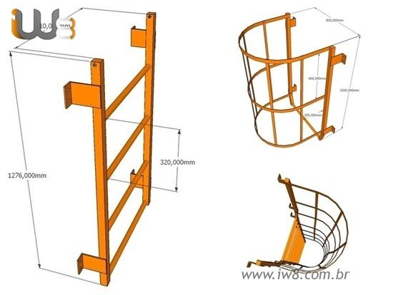 Escada Marinheiro Retratil