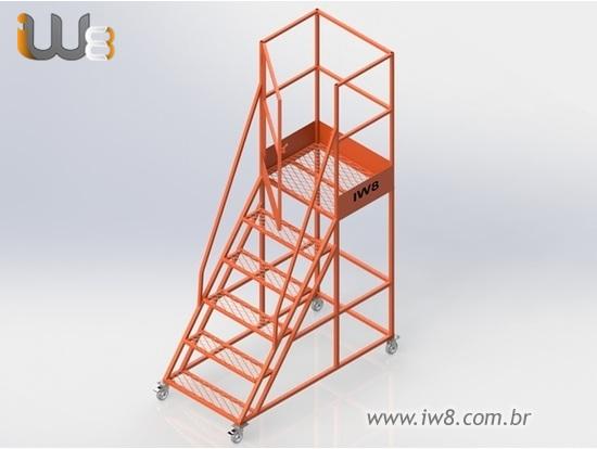 Escada Multifuncional Plataforma