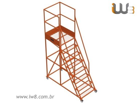 Escada Plataforma 7 Degraus