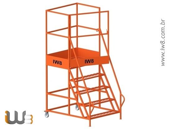 Escada Plataforma Móvel