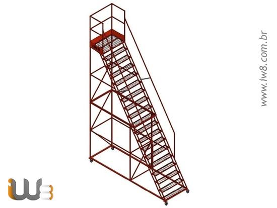 Escadas Plataforma Industrial