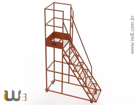 Escadas Plataforma para Almoxarifado