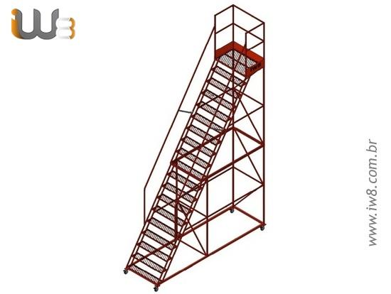 Escadas Plataformas Industriais
