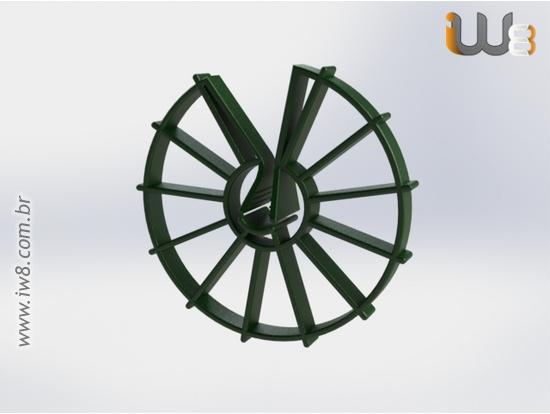 Espaçador Circular 40mm