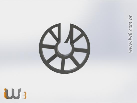 Espaçador Circular de Plastico