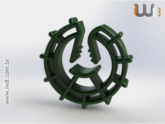 Espaçador Circular Universal s25