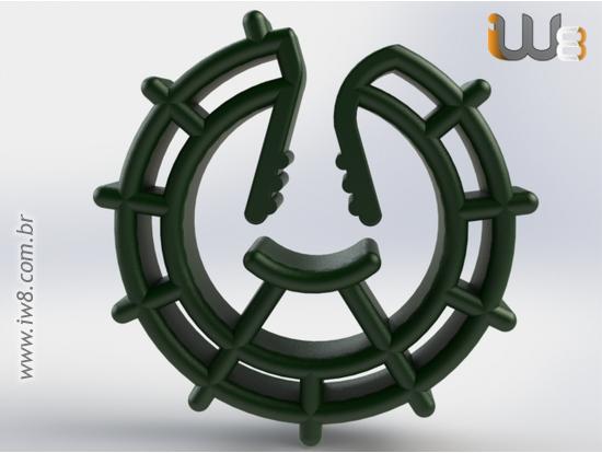Espaçador Circular Universal s30