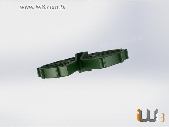 Espaçador de Concreto Circular 40mm