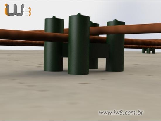 Espaçador Laje Tipo Cadeirinha IW8