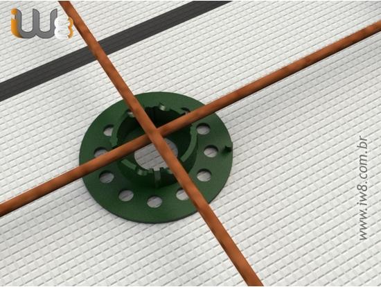 Foto do produto - Espaçador Plastico EPS e Cordoalhas 10mm