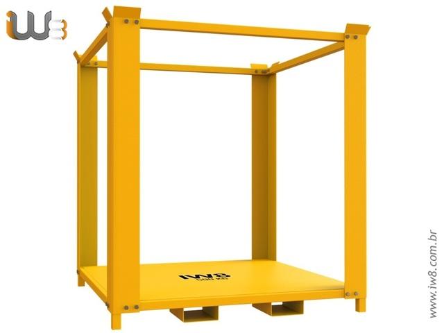 Estrutura Metálica para Empilhar Bags