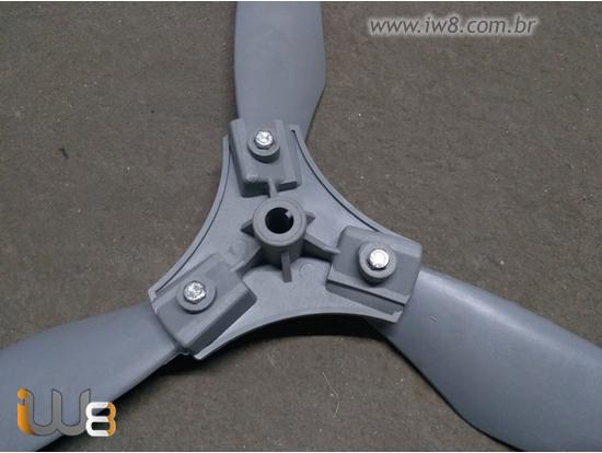 Fabrica de Hélices Plásticas Ventilador Industrial 100cm 3 Pás