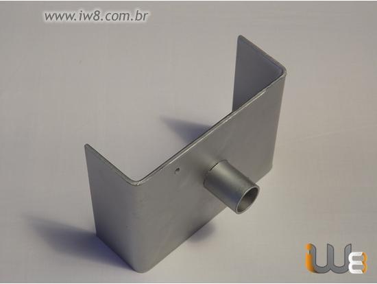 Foto do produto - Forcado Duplo Fixo para Escora Metálica