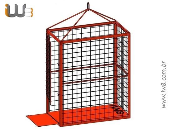 Gaiola de Aramado com Porta