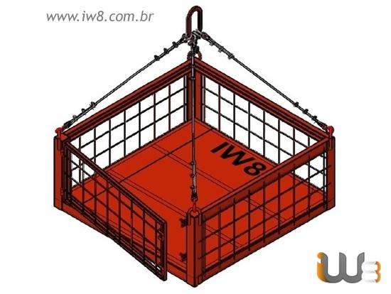 Gaiola de Ferro para Construção