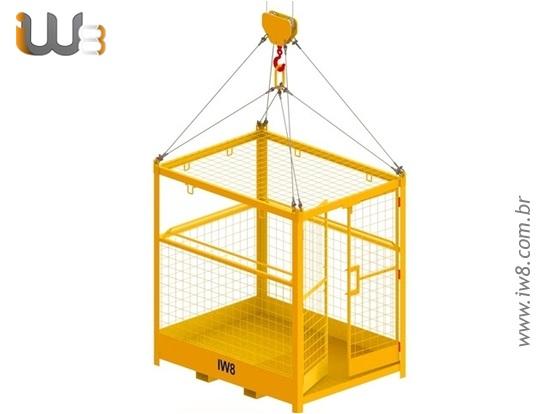Foto do produto - Gaiola de Segurança Trabalho em Altura