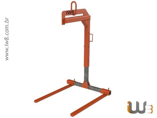 Foto do produto - Garfo Paleteiro 1.000kg Regulável