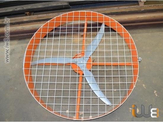 Hélice de Ventilador de 1 Metro Industrial para Granja 100cm